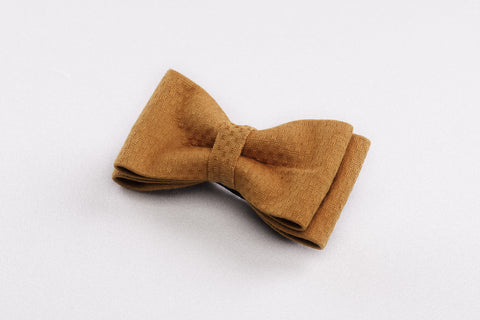 Beige bow tie, men bow tie, brown bowtie