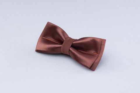 Beige bow tie, men bow tie, brown bowtie, men wedding tie