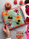 Personalized Custom Quiet Book Interactive Sensory PikaBooK
