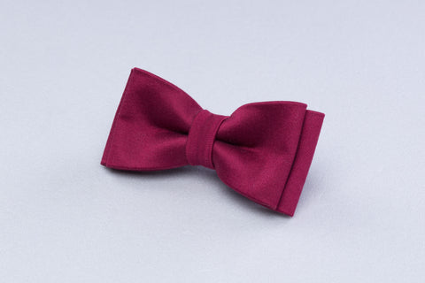 marsala bow tie, kids bow tie, red bow tie