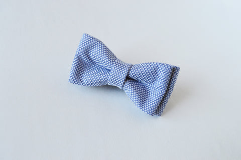 Dot Blue Bow tie