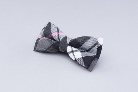 Grey Worsted Bow tie