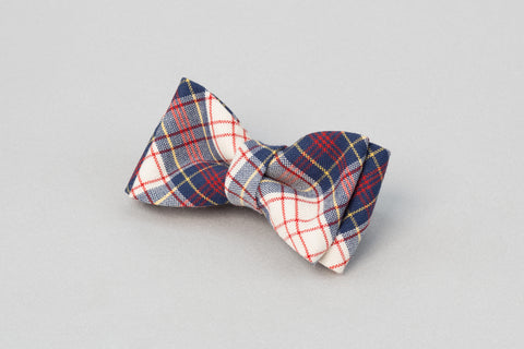 Smart Striped Bow tie