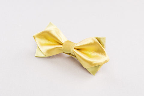 Vibrant Yellow Bow tie