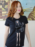 Black Designer Doll T-shirt