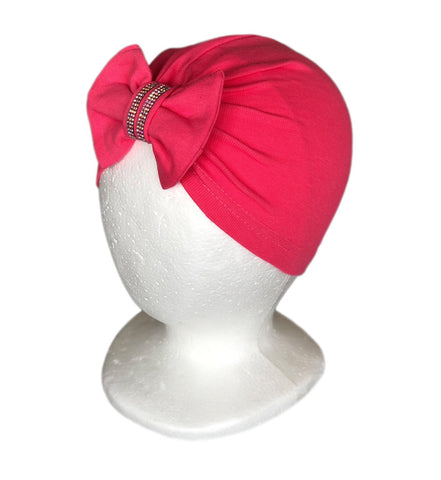 Baby Girl Turban Headwrap with Rhinestones