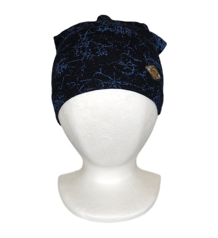Boys slouchy hat Spider web