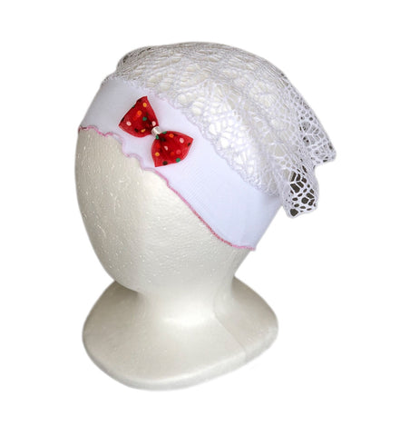 Summer Bandana Hat with cute Bow for Girls