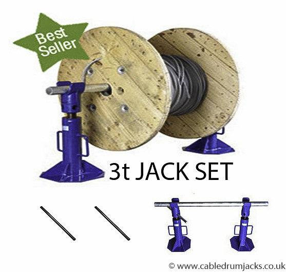 Reduced Shipping Rates on Manual Jacks from www.cabledrumjacks.co.uk