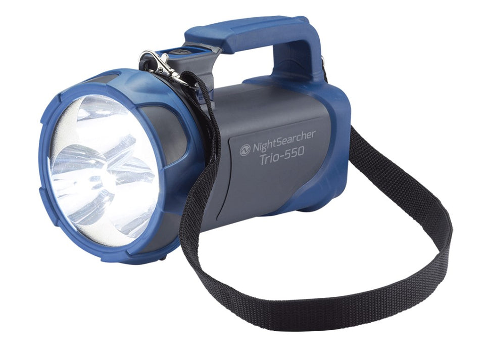 Trio-550 Lightweight Rechargeable Searchlight Ref: 119-2-3
