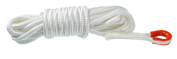 15 Metre Static Rope White