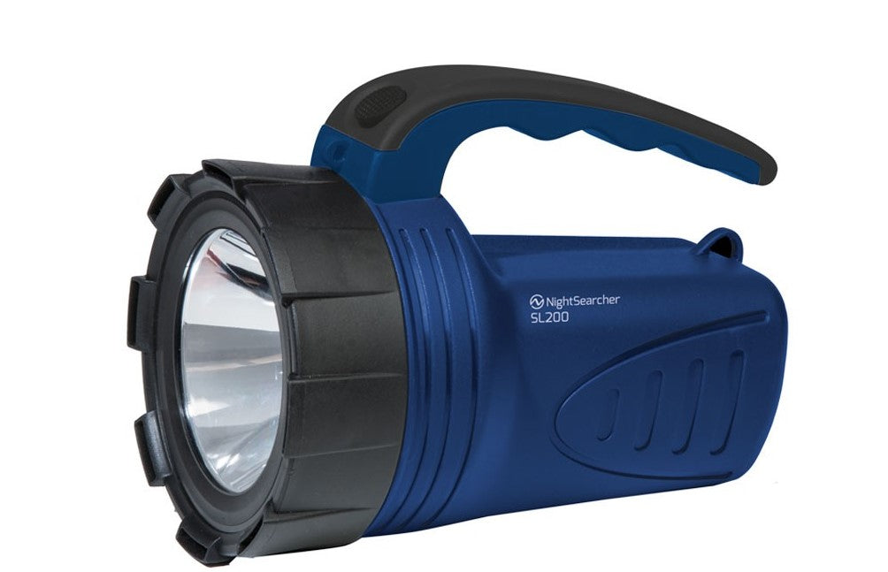 NSSL200 - Ultra-Lightweight Rechargeable LED Searchlight Ref: 119-2-1