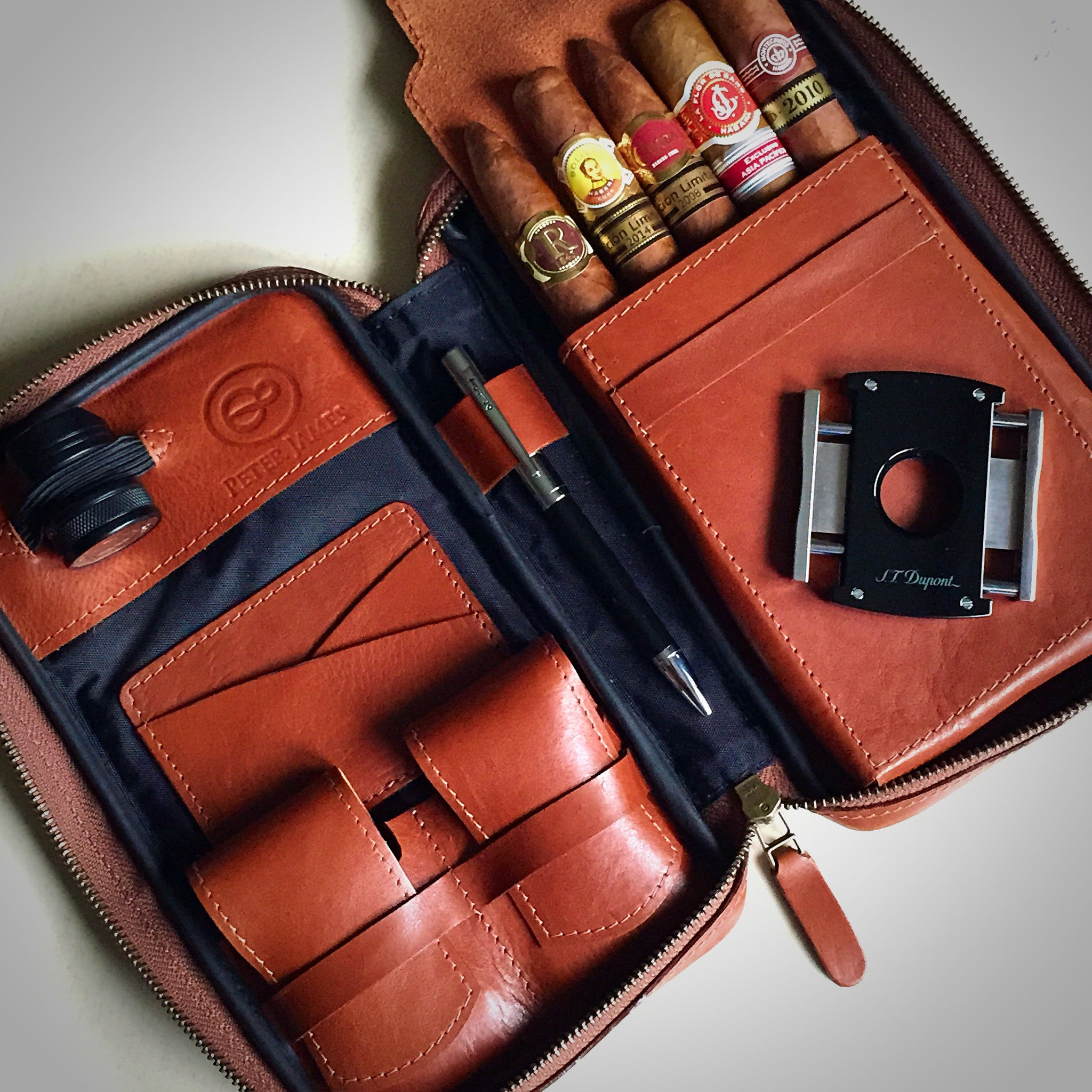 Cigar case by Peter James By Laurent Chazoule