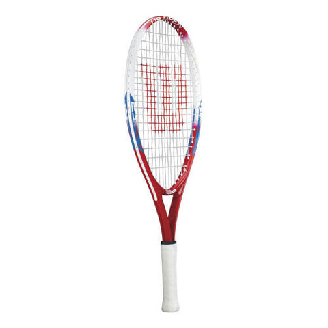 Wilson US Open red/white/blue tennis racket 7 -8