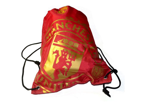 Manchester united Drawstring Gym Bag Official Merchandise