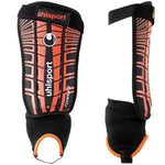 Uhlsport Flex plate black/orange Shin and ankle football shinpads