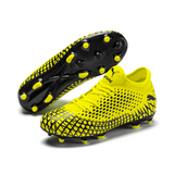 Puma 4.4 future FG/AG Moulded junior football boots- Yellow Alert