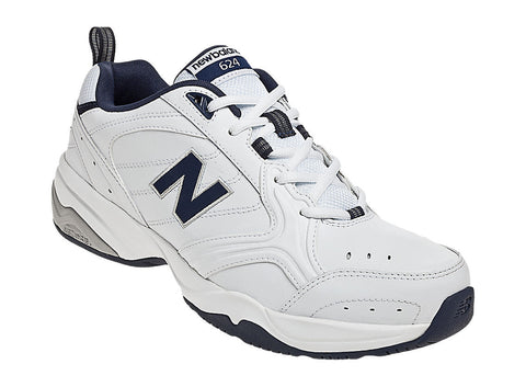 New Balance 624 White mens cross trainers