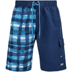 "Zoggs watercheck stockton 21"" shorts blue"