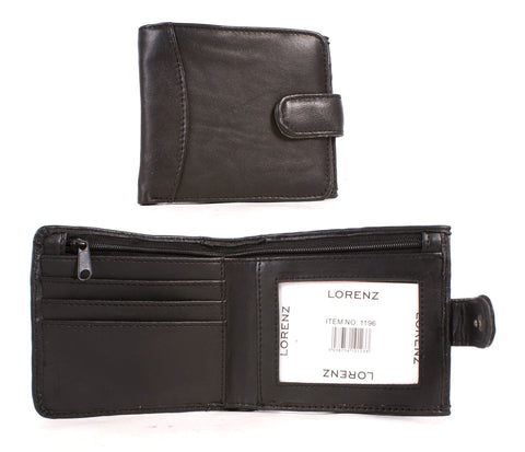 Sheep Nappa Notecase wallet with Zip and Back Coin Pocket 1196