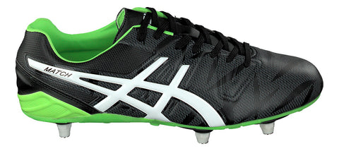 ASICS Match ST Football or Rugby boots classic Black design