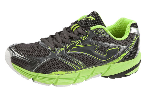 Joma 611 men's running trainers grey/green