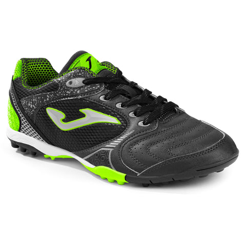 Joma mens astroturf trainers dribling 801 black lemon