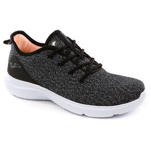 Joma Lady's trainer black knit with memory foam