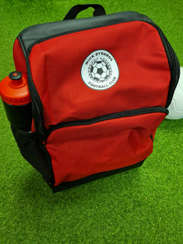 Wick Dynamos Sports Hard-base Backpack 23litre- Red