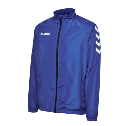 Hummel Core Micro Zip Rain Jacket - True Blue - Adults