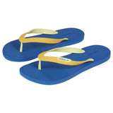 Speedo Saturate II blue and orange mens thong flip flops