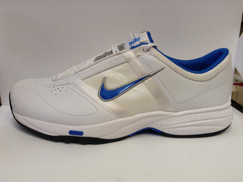 Nike womens Steady V Leather - fitness trainer - blue/white