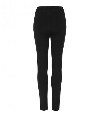 AWDis Girlie Black Ladies Tapered Track Pants Tracksuit Bottoms