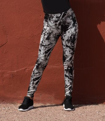 SF Ladies Reversible Workout Leggings