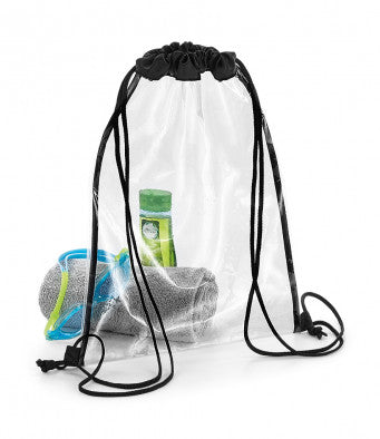 Bagbase Clear Gymsac ideal for swimming!