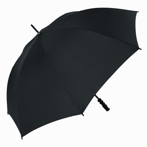 Beechfield Quadra Large Black Pro golf Umbrella 130cm