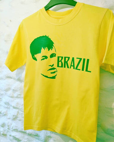 Brazil Football Hero Neymar tee T shirt