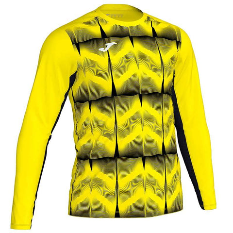 Joma Derby junior patterned goalkeepers shirt green/yellow
