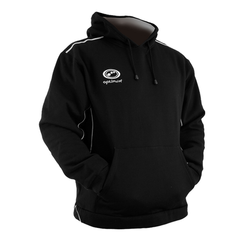 Optimum Eclipse Rugby Hoodie Black/Silver