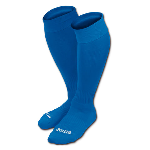 Joma royal blue classic 3 football socks PACK OF 20 (size large)