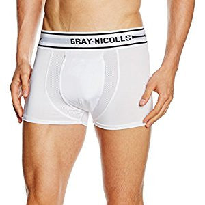 Gray Nicolls Cricket Boxer short trunks white fits abdo Mens and Boys sizes