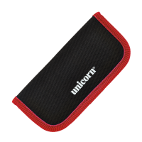 Unicorn midi velcro darts wallet black/red