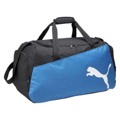 Puma Pro Training ll Medium Holdall Football, Gym bag Black/Royal OR Black/Red