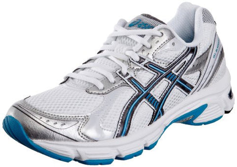 Asics ladies running trainers white Blackhawk5