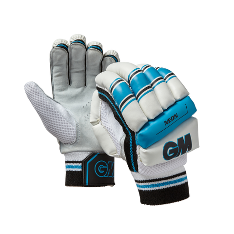 Men's neon GM cricket batting gloves