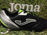Joma Aguila 631 black mens Football boot metal screw Studs