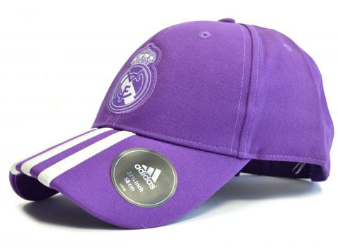 Adidas Real Madrid Baseball Cap Purple