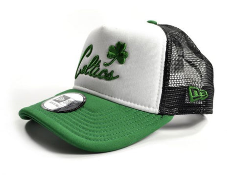 New Era NBA Boston Celtics Trucker Cap