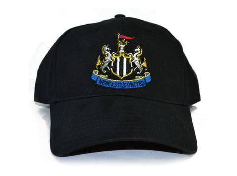 Newcastle United Black Baseball Cap