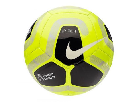 New Nike Pitch Premier League 19/20 Volt Size 5